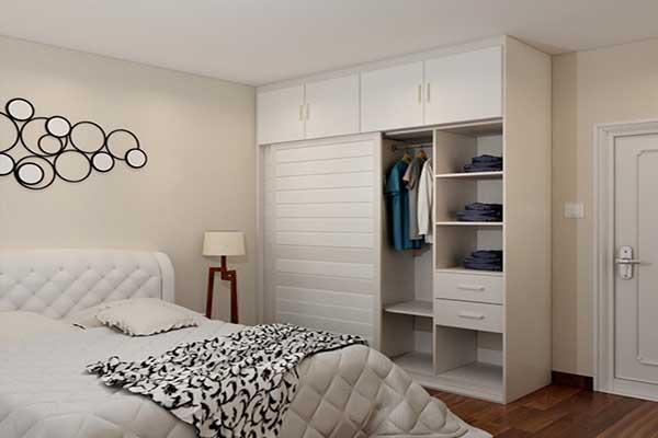 卧室的装修风格,衣柜最能体现!
