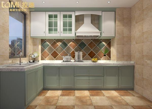小户型多种厨房装修设计方案,不如就选拉迷轻松搞定!