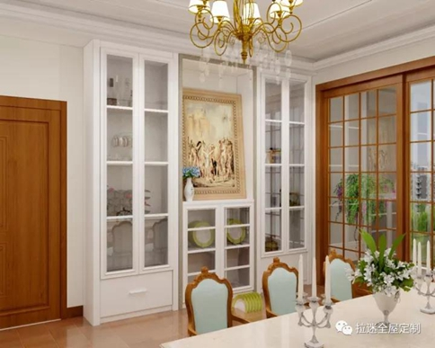 复古式餐边柜