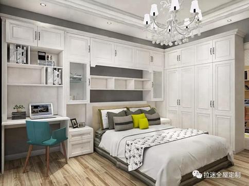 想要装修个性卧室,不是只有定制衣柜!图片